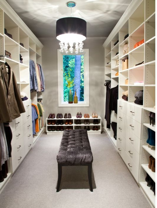 Walk in master bedroom closet design-Home and Garden Design Ideas ...