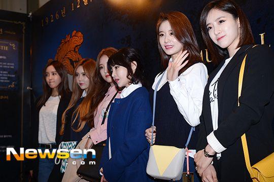 [포토엔]티아라 '문화생활 하러 왔어요~'(아가사 VIP)