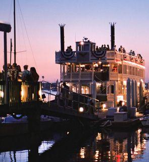 Bahia Belle Sternwheeler Cruises on Mission Bay, music, fun, dancing, tacos, weddings