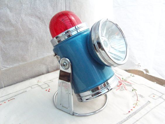 vintage pifco motorist battery lamp emergency by fennelandfoxglove, £15.50