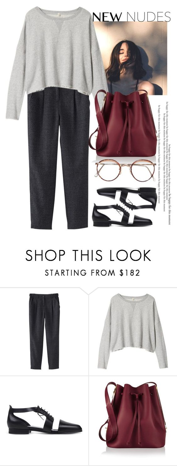 """""""Без названия #1908"""" by catelinota-a ❤ liked on Polyvore featuring She's So, R13, Jil Sander and Sophie Hulme"""