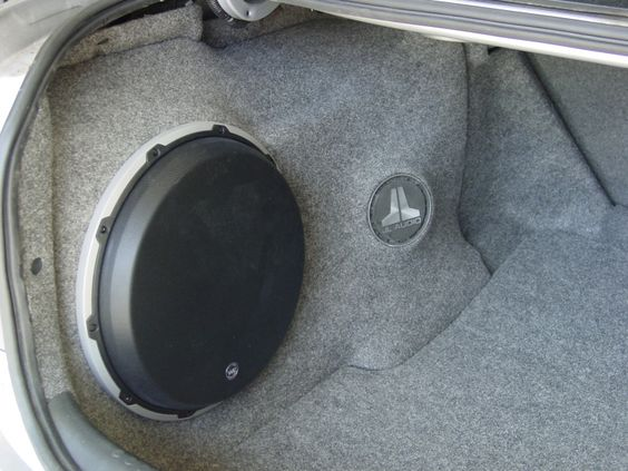 Honda Accord 2003 Custom Fiberglass Sub Enclosure My