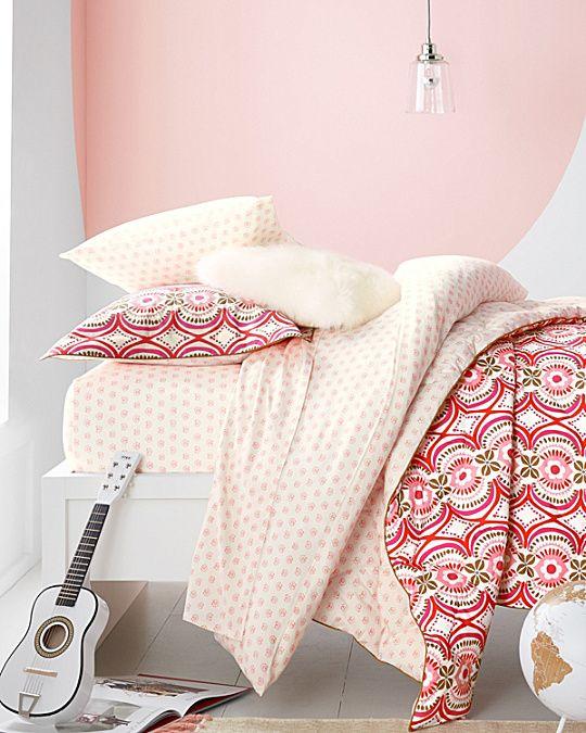Little Prints Organic-Cotton Knit Bedding