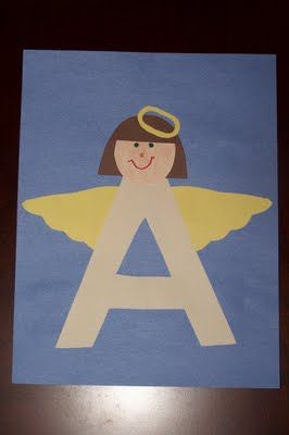 LETTER A FOR ANGEL