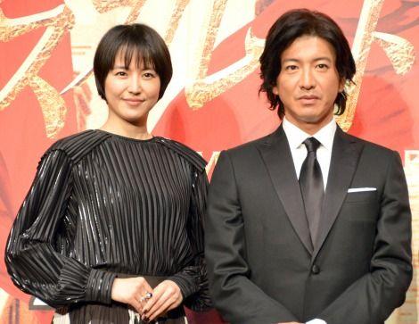 木村拓哉さんと長澤まさみさん