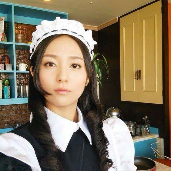 メイド服の木村文乃