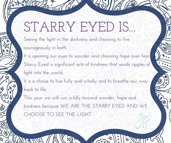 Starry Eyed Is...