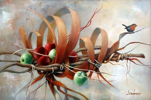 Beauty will save Fantastic paintings by Jean Claude Desplanques ...