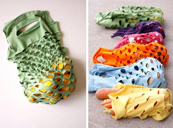 Popular post: T-shirt Produce Bag