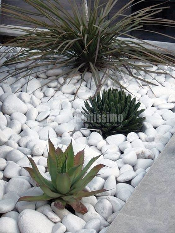 Pinterest the world s catalog of ideas - Decoracion de jardines con piedras ...