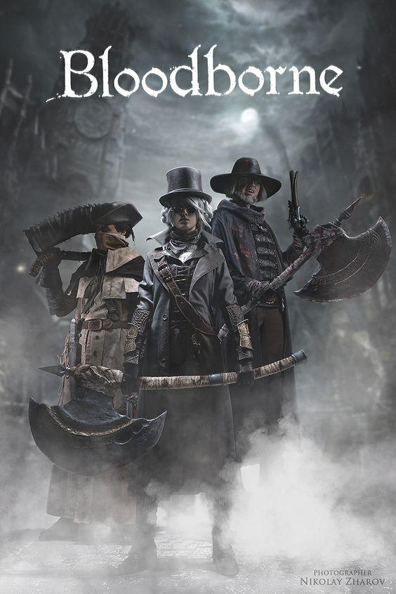 Địa Ngục Đẫm Máu Đây Là Một số Cosplay Bloodborne