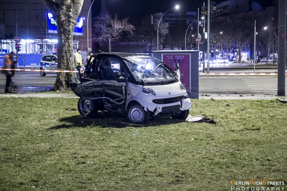 Smart? After destroying a Ferrari Speciale!