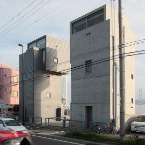 4x4 House I (2003) and II (2004) | Tadao Ando