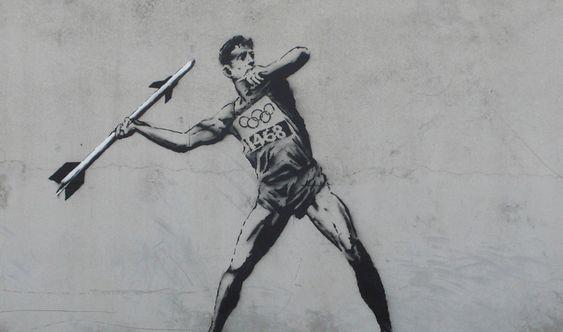 Banksy Jeux Olympiques