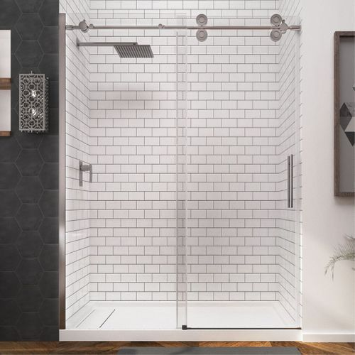 1005glass Sliding Doors Lowes In 2020 Shower Doors Bypass