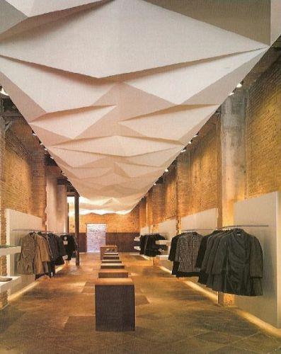 Ceiling design ideas commercial design pinterest for Interior ceiling designs ideas