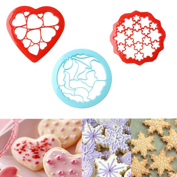 3D Cute Shape Large Cookies Cutter Mould Cake Decorating Cookie Diy Baking Tools