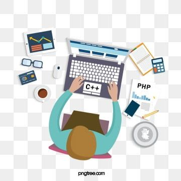 Programmer Office Supplies Office Clipart Code Working Png Transparent Clipart Image And Psd File For Free Download Office Clipart Programmers Office Background Banner