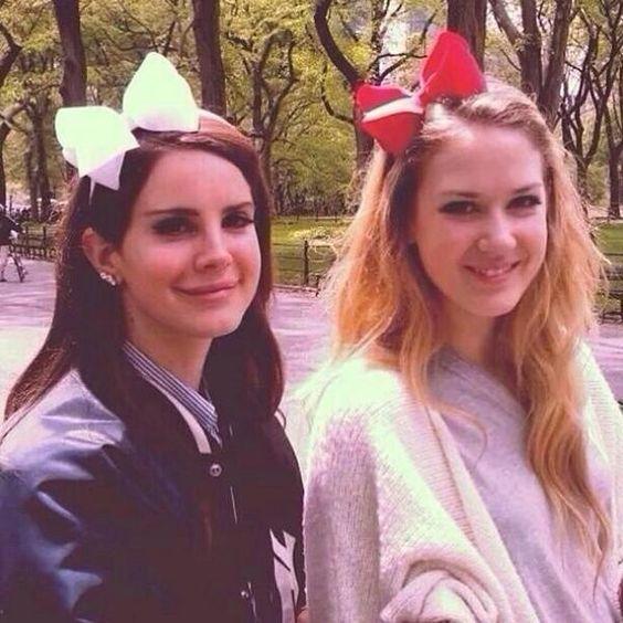 Lana Del Rey and Chuck