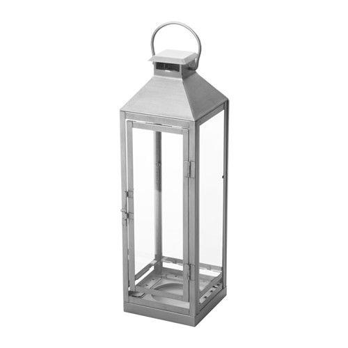 IKEA - LAGRAD, Laterne innen/außen, Für drinnen und draußen geeignet.