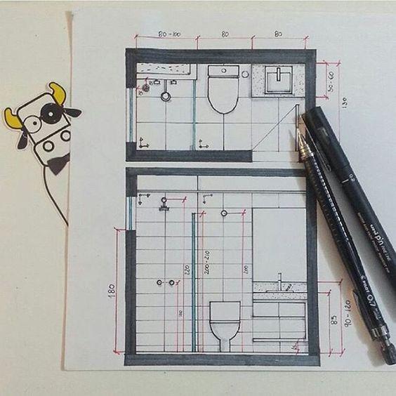 Snatutorial: Banheiro  Por @marismerk #equipearquitêta  Snap: arquitetapage #arquitetapage