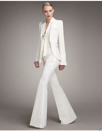 women's white pants suits | Estava Morioka – Pre-Order Rachel