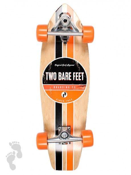 """The 829 Complete Carving Skateboard 29"""" (Orange / Black)"""