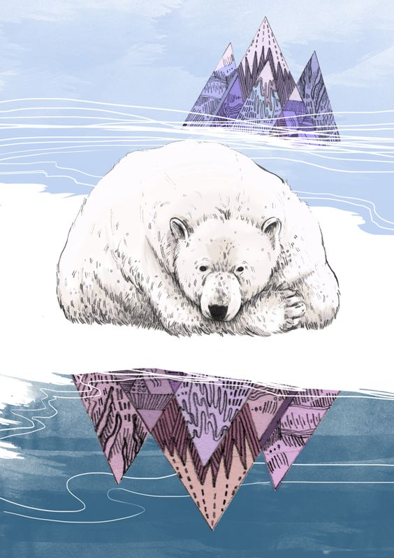 Bye Polar Bear on Behance