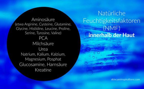 Hautfeuchtigkeit (6) – Was soll mein Moisturizer enthalten? (I) Feuchthaltemittel