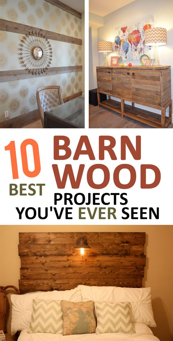 10 Best Barn Wood Projects You