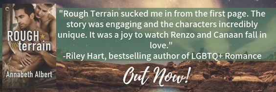 ~Release Blitz~Rough Terrain (Out of Uniform #7) by Annabeth Albert~Review, Excerpt & Giveaway~