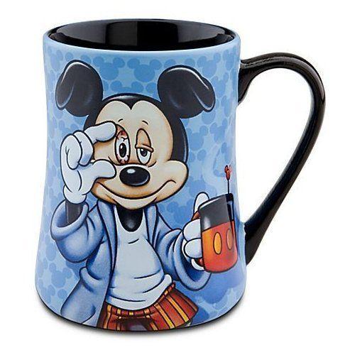 Mickey Some Mornings Are Rough Coffee Mug Disney http://www.amazon.com/dp/B004IMX2HO/ref=cm_sw_r_pi_dp_Xl7Svb15401DJ