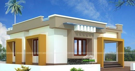 10 Lakhs Budget House Plan In 2020 Budget House Plans One Bedroom House One Bedroom House Plans