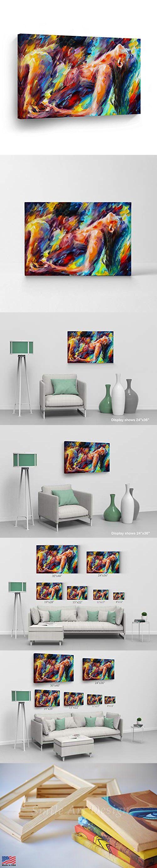 Man woman making love canvas Pin On Wall Decor