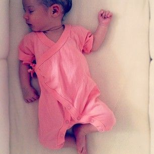 now, this little pink kimono is adorbs!