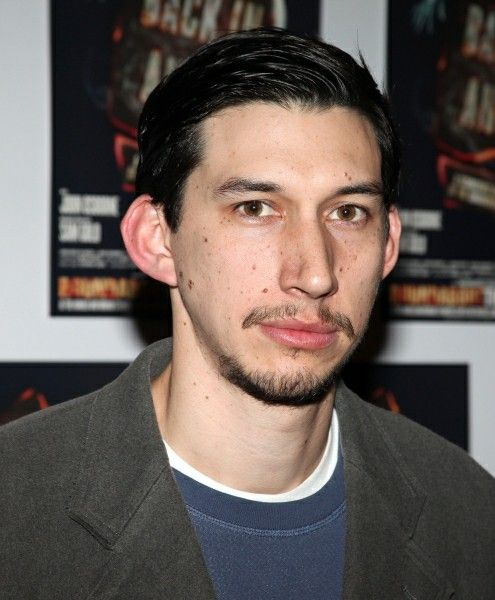 Adam Driver With Really Short Hair From Arrivals At Lool Back In Anger Opening Night After Party Date 2012 Adam Driver Movies Adam Driver Look Back In Anger