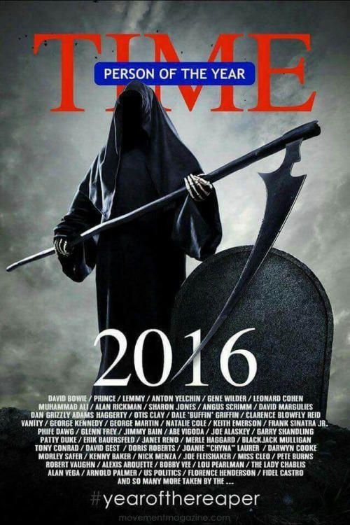 TIME magazine cover. 2016