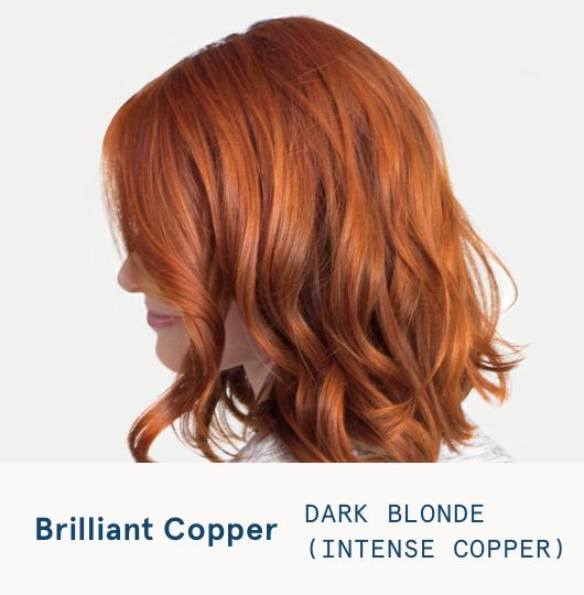 Dark Blonde Intense Copper Hair Color With Images Strawberry