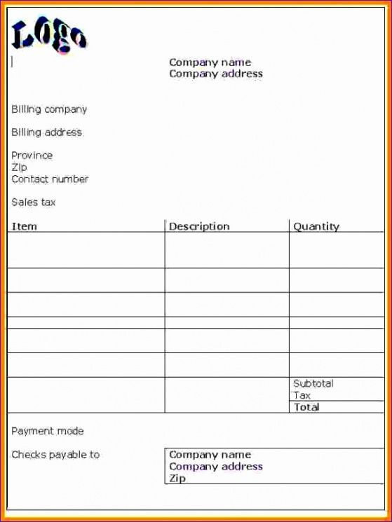 Doc Pdf Free Premium Templates Invoice Template Word Invoice Template Bill Template