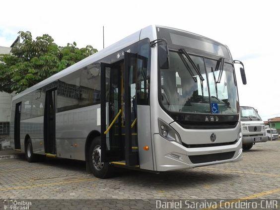 Ônibus da empresa , carroceria AMD Álamo, chassi Volkswagen 17.260 OD Euro V. Foto na cidade de Belo Horizonte-MG por Daniel Saraiva Cordeiro-CMR, publicada em 14/10/2016 15:10:44.