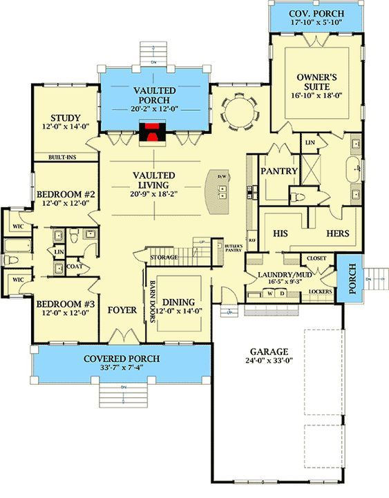 Plan 46379la Exclusive New American House Plan With Side Entry Garage American Houses New House Plans House Plans