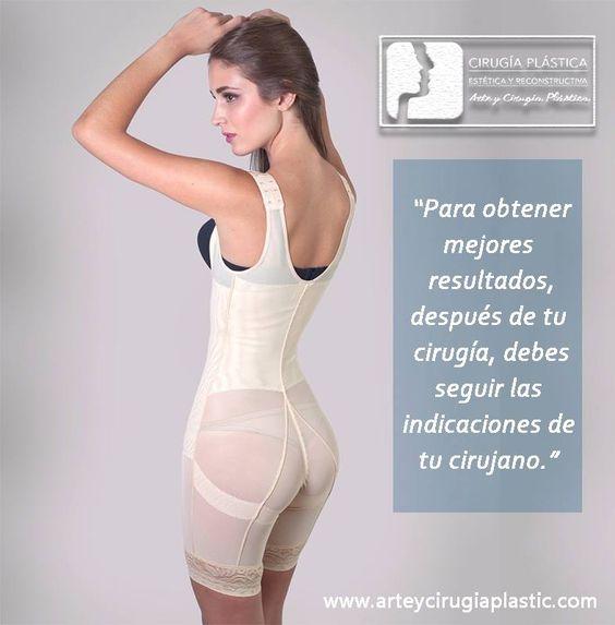 Es muy importante que sigas las recomendaciones para tener una mejor recuperación. Después de algún procedimiento como una abdominoplastia o liposucción deberás usar faja por 2 a 3 meses