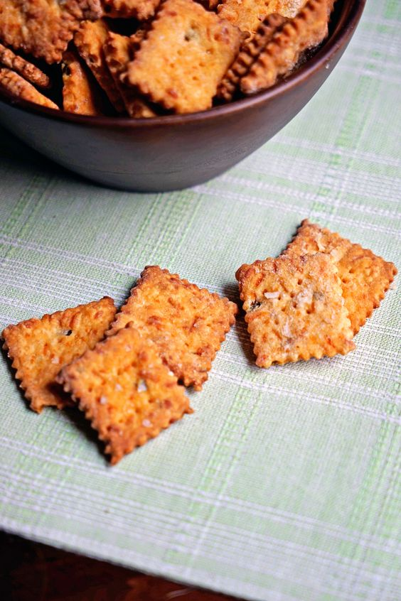 These Jalapeño and Cheddar Cheese Crackers are not only easy to make, but are super crunchy. The buttery, flaky dough is toasted to perfection and when topped with sea salt flakes, makes the perfect addictive snack food.