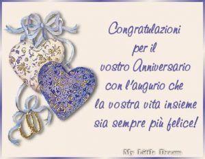 Felice Anniversario Matrimonio Dediche E Cartoline