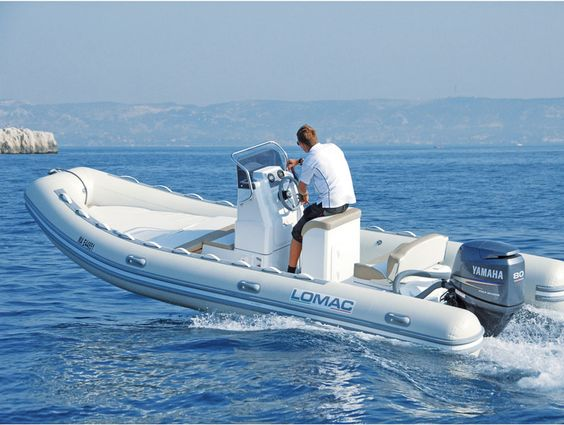 Essai lomac 580 ok bateau pneumatique bateaux pinterest - Bateau pneumatique semi rigide ...