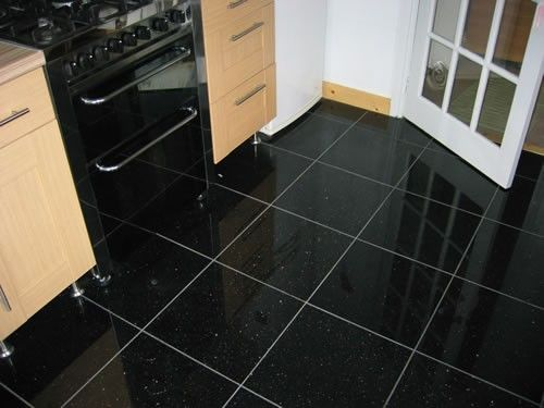 Kitchen Floor Tiles Black Glitter Black Sparkle Quartz
