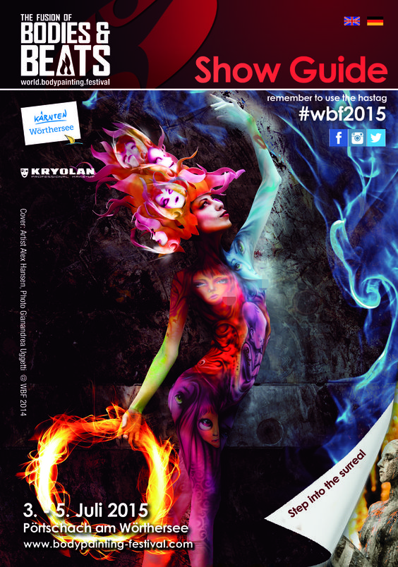 Show guide for ‪#‎wbf2015‬ is ready for download!! === Der Show guide für das #wbf2015 ist nun fertig und zum Download verfügbar! http://www.bodypainting-festival.com/…/ShowGuide2015-web.pdf