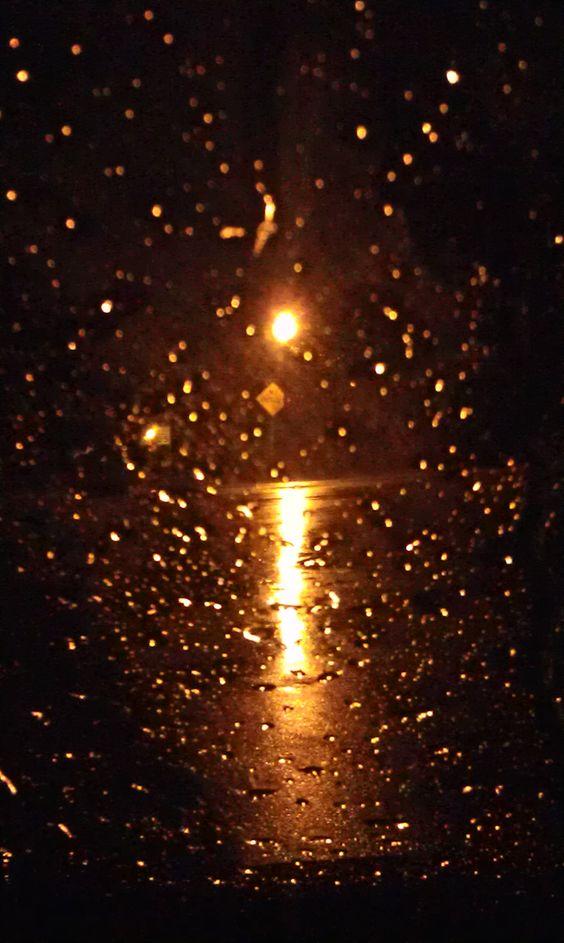 Windshield Raindrops