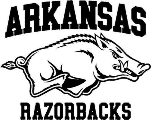 Arkansas Razorbacks Coloring Pages Arkansas Razorbacks Football
