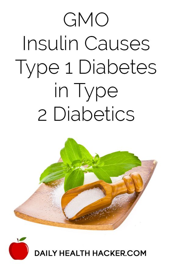 GMO Insulin Causes Type 1 Diabetes in Type 2 Diabetics  good to know